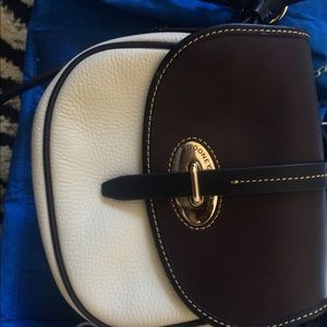Dooney and Bourke Cristina purse beige and brown